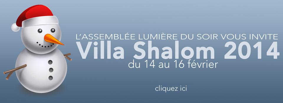 Villa Shalom 2014